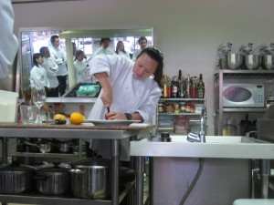 Chef Agnes Borromeo