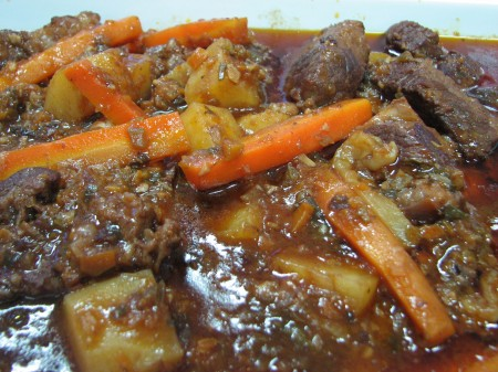 My Beef Stew at CACS