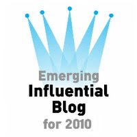 Emerging Influential Blogs of 2010