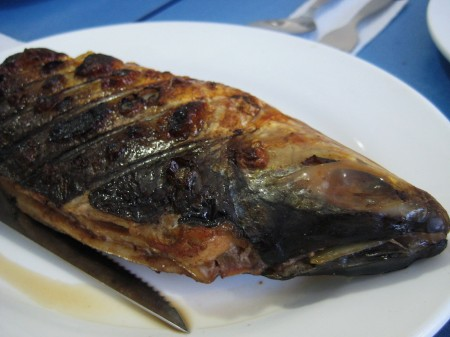 Stuffed Grilled Milkfish by Pixie's Sinugba in Davao City