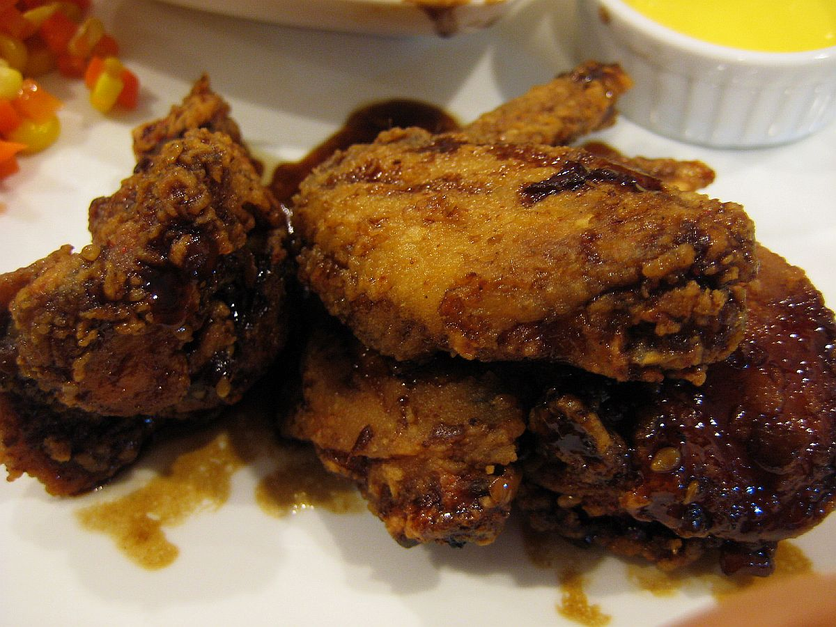 Wings in Teriyaki Sauce