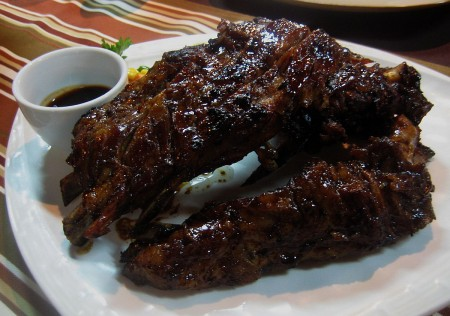 Baby Back Ribs by Davao General Santos City Restaurant Rancheros