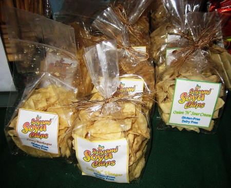 Soyami Soya Chips at Mercato Centrale at the Fort