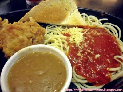 Port Cafes Chicken and Spaghetti Meal Davao City Food