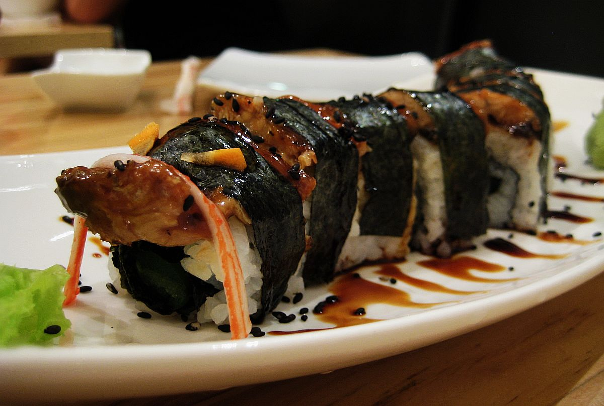 Sushi Dito Black Dragon Roll Davao Food Japanese