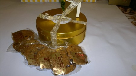 Muesli Granola The Cereal Bar Gold Tin Sampler
