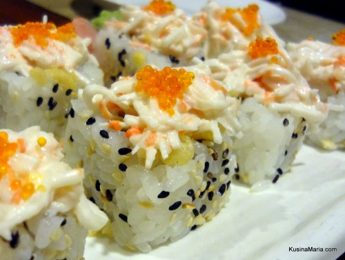 Crunchy Roll by Nonki Japanese Restaurant  in Davao City