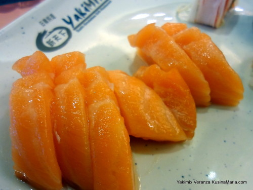 Unlimited Salmon Sashimi at Yakimix Veranza