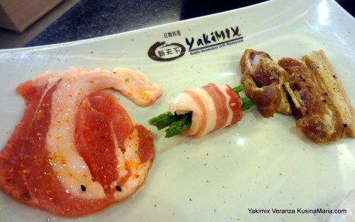 Bacon Prepared 3 Ways for Grilling at at Yakimix Veranza