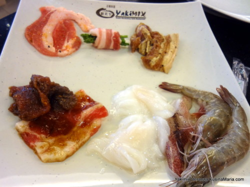 Meats and Seafood for Grilling at at Yakimix Veranza