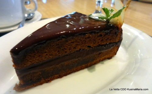 La Vetta Double Chocolate Cake