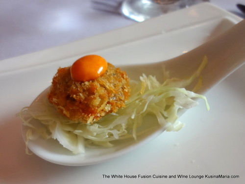 Amuse-Bouche at the White House Fusion Cuisine and Wine Lounge