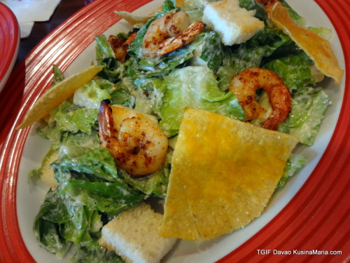 Southwest Shrimp Ceasar Salad by TGIF
