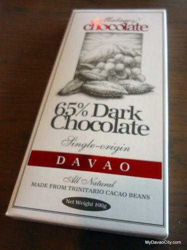 Malagos Single-Origin 65% Dark Chocolate Bar