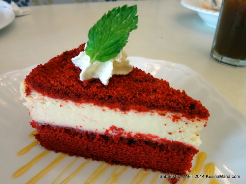 Red Velvet Cheesecake by Sab Bistro