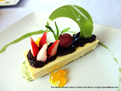Yamamomo Cheesecake by The White House Fusion Cuisine and Wine Lounge