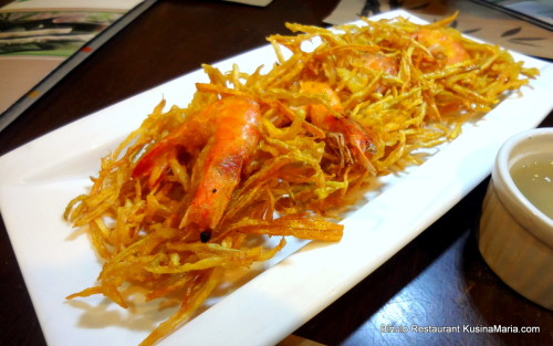 Shrimp Okoy by Binulo Restaurant