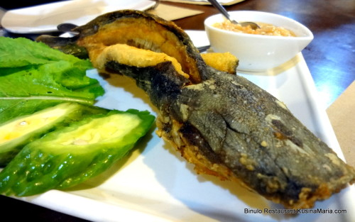 Binukadkad Hito with Buro by Binulo Restaurant