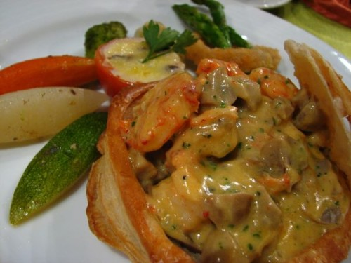 Prawns Thermidore by Polo Bistro of Marco Polo Davao