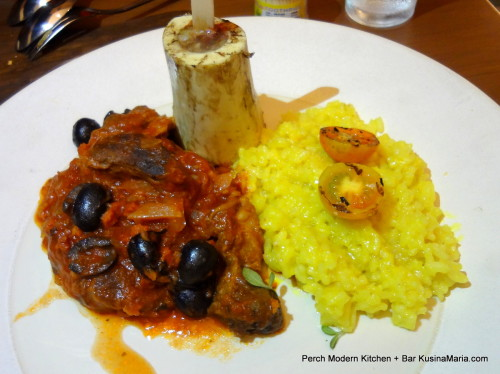 Osso Buco with Turmeric Risotto by Perch Modern Kitchen + Bar in Felcris Centrale, Davao
