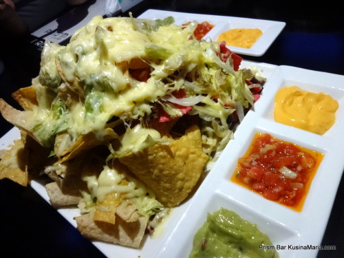 Nachos by the Prism Lounge