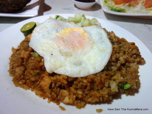 Chicken Khao Pad by Have Sam Thai