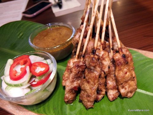 Pork Satay (Indonesian Spiced Skewers) by Vikings Luxury Buffet - Street Foods of the World