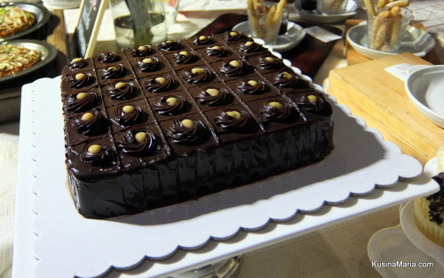 Gluten-Free Chocolate Cake by Osvaldos at the Davao Gourmet Collective at SM Lanang Premier