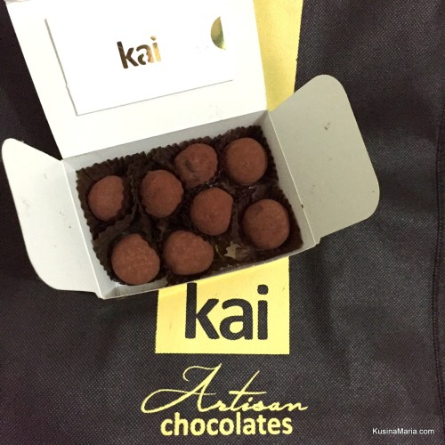 Tequila Rose Truffles by Kai Artisan Chocolates