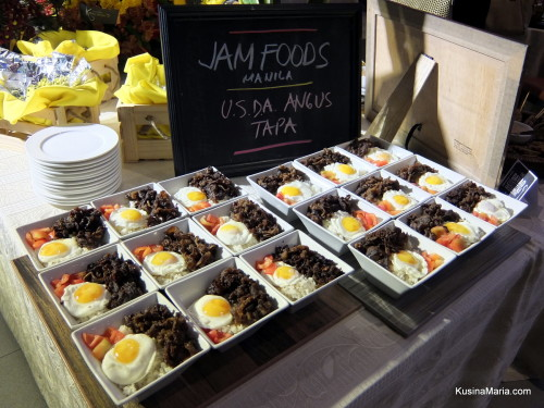 Jam Foods USDA Tapa at the Davao Gourmet Collective at SM Lanang Premier