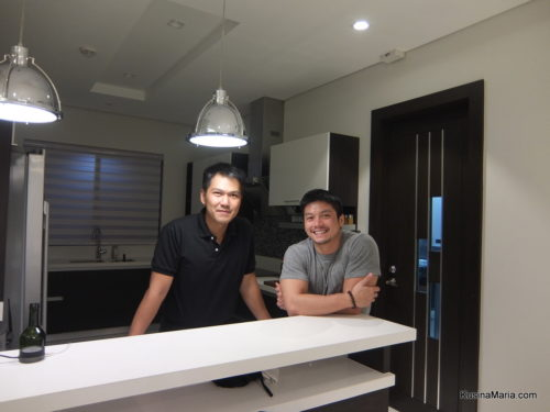 Chef Mykie Hao and Chef Topher Lopez of Mykie's Private Kitchen
